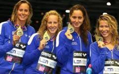 Mondiali di nuoto: argento per l'Italia nella 4x200 femminile grazie a una favolosa Pellegrini e alla toscana Chiara Masini Luccetti