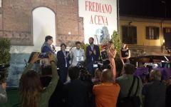 Firenze: Pepito Rossi premiato con il Torrino d'oro alla cena in San Frediano