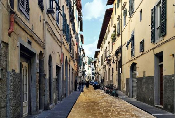 La  Strada d'Oro - Rendering anteprima di Via Santa Maria Firenze