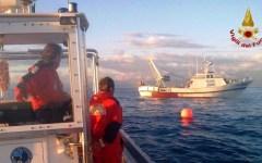 Viareggio, naufragio del peschereccio Giumar: relitto ispezionato, nessuna traccia dei due pescatori