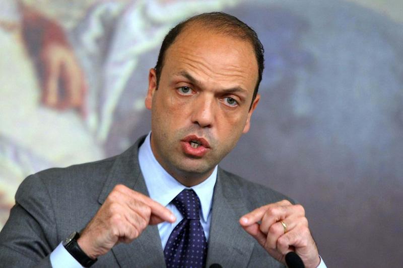 Il ministro Angelino Alfano