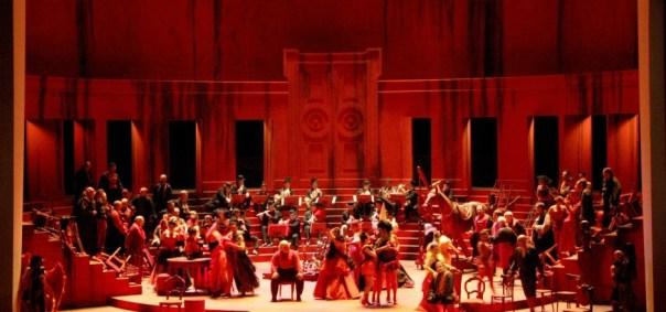 Una scena del «Rigoletto»