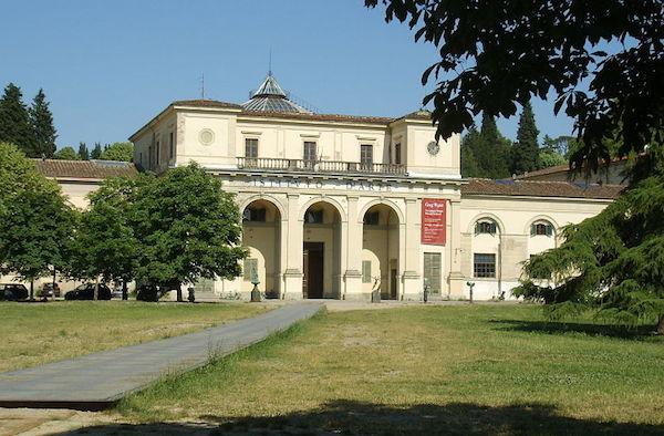 La palazzina che ospita l'Istituto d'Arte a Porta Romana