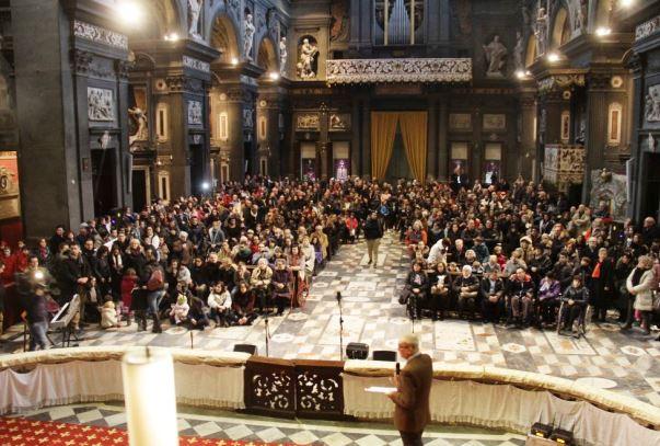 Firenze, Capannucce in città, la chiesa di San Gaetano