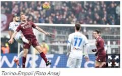 Grande Empoli: vince a Torino (0-1). Scavalca il Milan ed è quinto in classifica