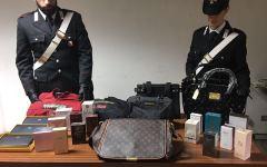 Montecatini terme: sequestrati a un senegalese beni contraffatti per  mille  euro