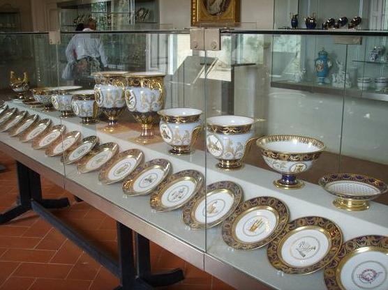 Museo delle Porcellane, interno.