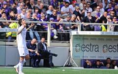 L'esultanza di Alvarez, autore del gol del pareggio della Sampdoria