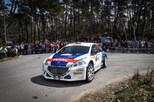 Rally Sanremo: Andreucci