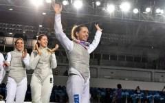 Scherma: Italia argento ai mondiali nel fioretto femminile. Ultima gara di Valentina Vezzali