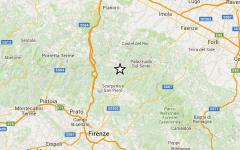 Terremoto nel Mugello: scossa di magnitudo 3,6. Paura a Firenzuola, Scarperia, Barberino e Borgo San Lorenzo