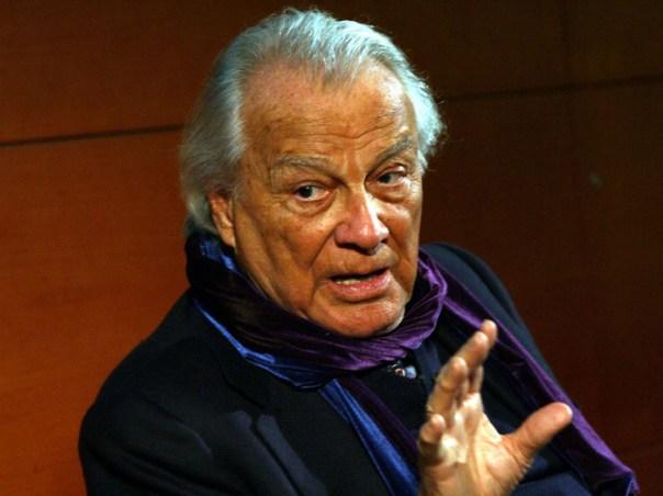 L'attore Giorgio Albertazzi