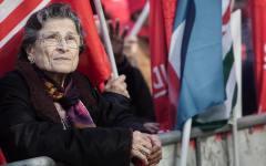 Pensioni: 60.000 in piazza a Roma per reclamare parificazione fiscale e gli 80 euro.