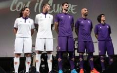 Fiorentina: presentate le nuove maglie per la stagione 2016-2017