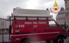 Pisa: accusa malore sulla Torre, salvato dal soccorso alpino speleologico dei vigili del fuoco