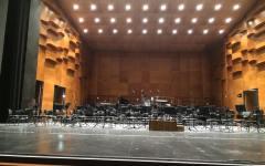 Il palco dell'Opera di Firenze pronto per sabato 4