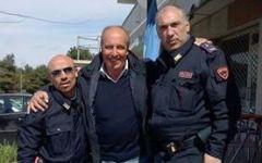 Nazionale di calcio, è ufficiale: Giampiero Ventura nuovo ct azzurro. E lui si fa fotografare con ... la polizia