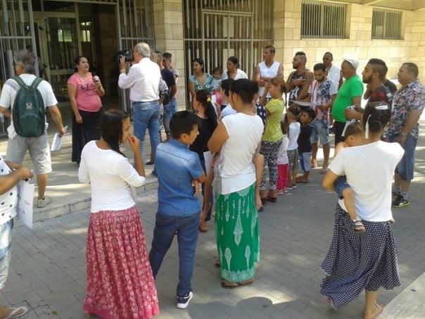 protesta rom comune