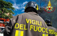 Fucecchio: incendio sul terrazzo di un condominio. Paura per una coppia di anziani