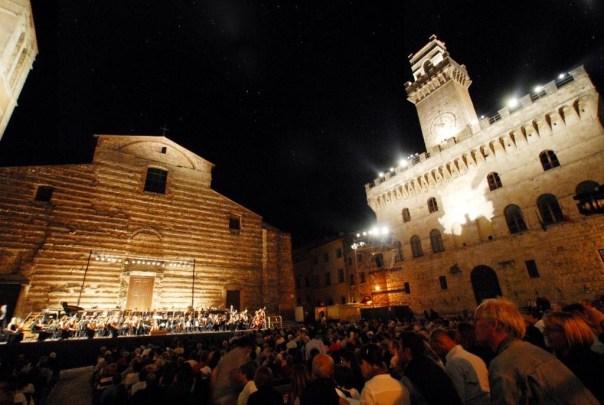 Un concerto in Piazza Grande a Montepulciano per il 40° Cantiere