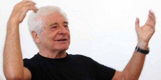 L'attore Ugo Pagliai, voce recitante in «Pierino e il lupo»