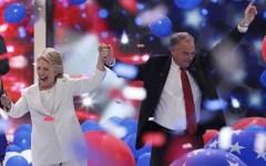 Elezioni Usa: Hillary Clinton accetta la nomination democratica alla Casa Bianca