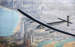 Ginevra: l'aereo solar impulse, a energia solare, ha compiuto il giro del mondo