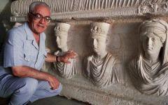 Firenze, Uffizi: omaggio all'archeologo di Palmira, Khāled al-As'ad, a un anno dall'assassinio da parte dei jihadisti