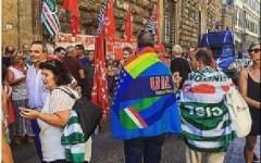 Firenze, riforma camere di commercio e province: presidio di protesta dei lavoratori davanti alla Prefettura