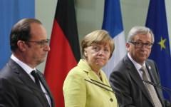 Berlino: mercoledì 28 vertice Merkel - Juncker - Hollande. Un altro schiaffo a Renzi