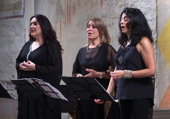 Patrizia Bovi, Françoise Atlan e Fadia Tomb El-Hage