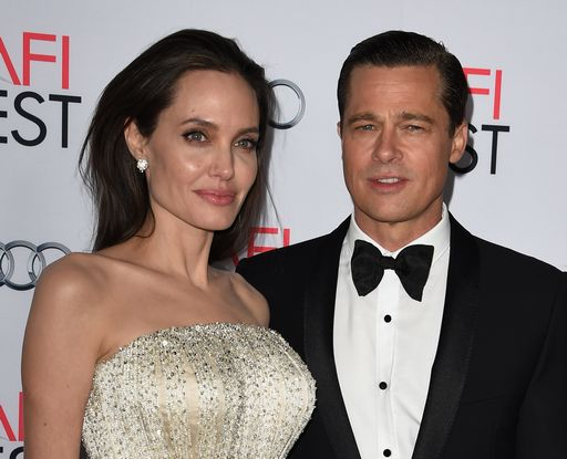 Angelina Jolie e Brad Pitt: i due attori stavano insieme dal 2004 e si erano sposati nel 2014