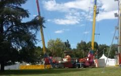 Firenze: ennesimo scempio dell'area cascine per il festival del Pd. La segnalazione (con foto) dei cittadini fiorentini