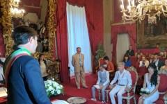 Firenze: prima unione civile fra donne in Palazzo Vecchio. Con la marcia nuziale