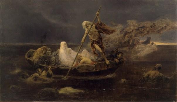 Carionte, canto III dall'Inferno di Dante: