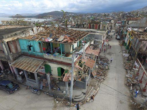 HAITI-CARIBBEAN-WEATHER-HURRICANE