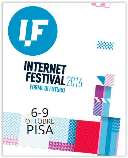 La sicurezza in rete all'Internet Festival 2016