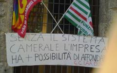 Roma, Camere Commercio: protesta dei dipendenti contro la riforma, a rischio 2.000 posti