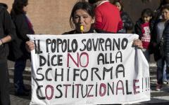Roma: manifestano per il No 50.000 studenti, precari, risparmiatori, aderenti a movimenti