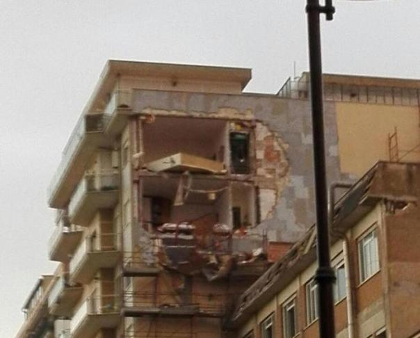 Tornado hit Ladispoli