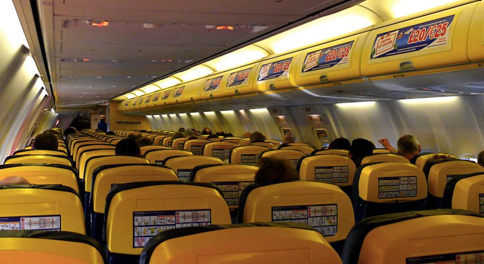 Rissa fra passeggeri sul volo Ryanair