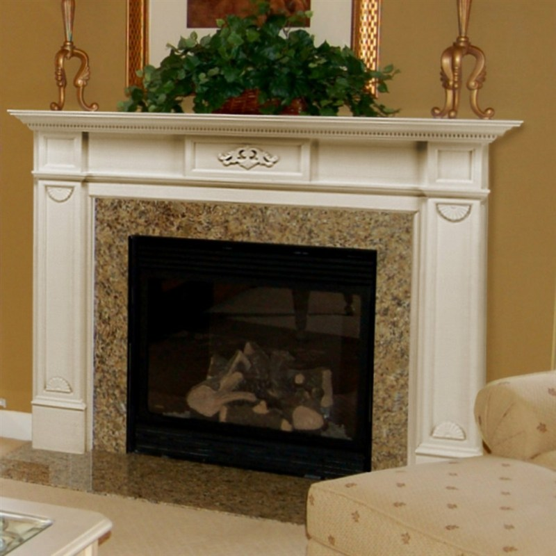Large Of White Fireplace Mantel