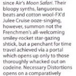 'To Where The Wild Things Are'  - Mojo Review