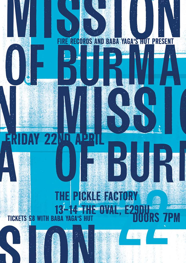 Mission Of Burma Pickle Factory