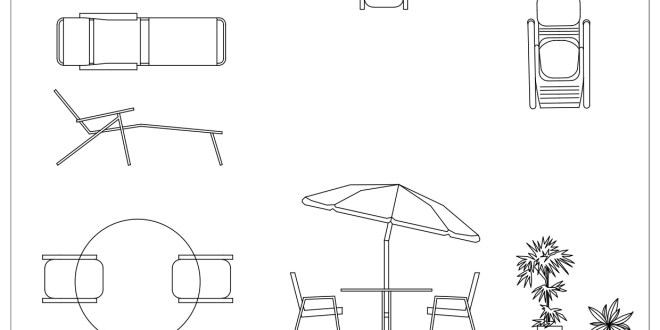 Free cad blocks outdoor furniture first in architecture for Chaise game free download
