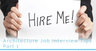 Architecture Job Interview 1