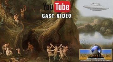 """YouTube-Video: UFOs und fremde Wesen im Mittelalter und seit Jahrtausenden: Das UFO-Phänomen ist uralt ... und keine moderne Erfindung einer """"Phantasten""""! (Bild: gemeinfrei / Montage: L. A. Fischinger)"""