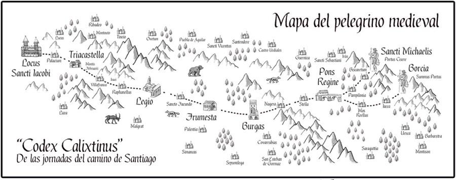 Mapa_medieval_del_Camino_de_Santiago