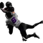 http://www.dreamstime.com/royalty-free-stock-photography-two-american-football-players-tackle-silhouette-shadow-white-background-image35570437