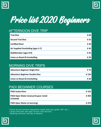 PRICE-LIST-2020-BEGINNERS